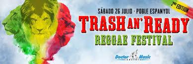 Reggae europeo y jamaicano en festival Trash An' Ready